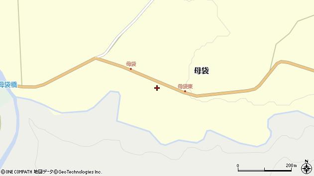 山形県尾花沢市母袋98周辺の地図