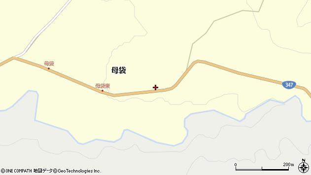 山形県尾花沢市母袋176周辺の地図