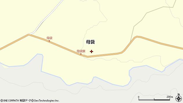 山形県尾花沢市母袋88周辺の地図