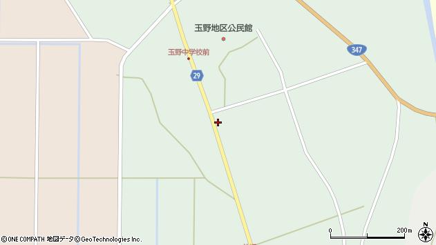 山形県尾花沢市鶴巻田1151周辺の地図