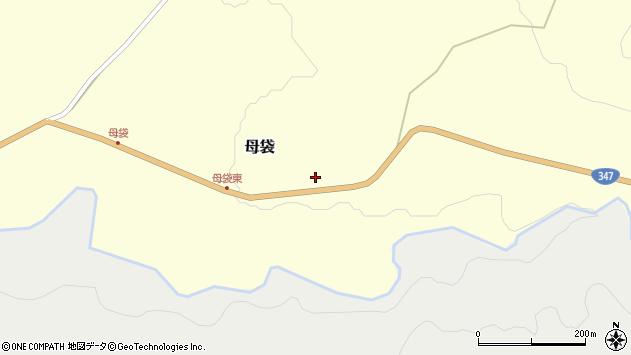 山形県尾花沢市母袋407周辺の地図