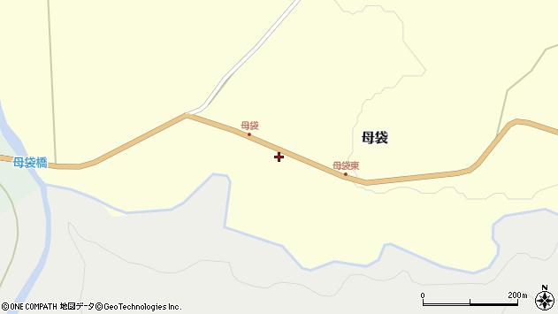 山形県尾花沢市母袋100周辺の地図