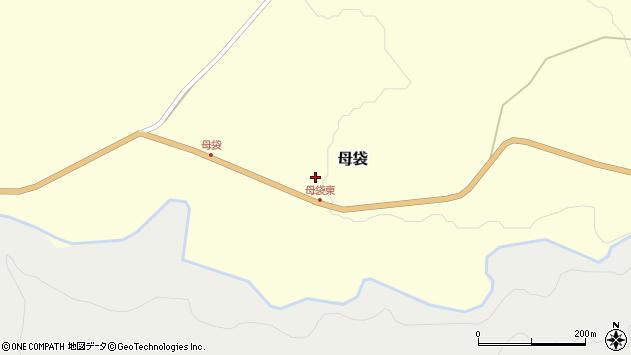 山形県尾花沢市母袋93周辺の地図