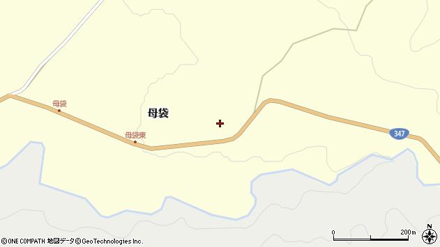 山形県尾花沢市母袋177周辺の地図