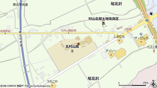 山形県尾花沢市尾花沢1593周辺の地図