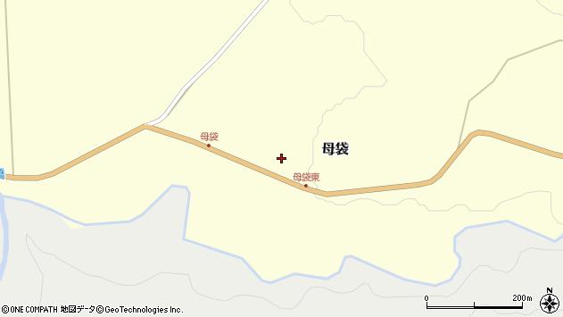 山形県尾花沢市母袋70周辺の地図