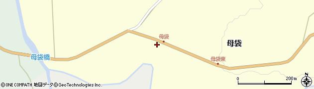 山形県尾花沢市母袋106周辺の地図