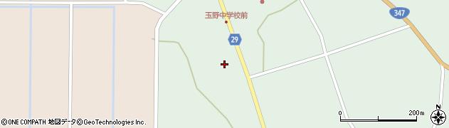 山形県尾花沢市鶴巻田836周辺の地図