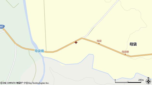 山形県尾花沢市母袋116周辺の地図