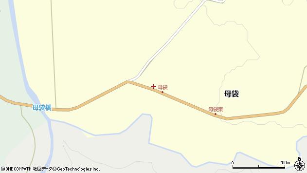 山形県尾花沢市母袋107周辺の地図