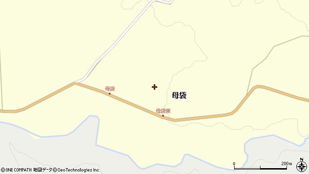 山形県尾花沢市母袋55周辺の地図