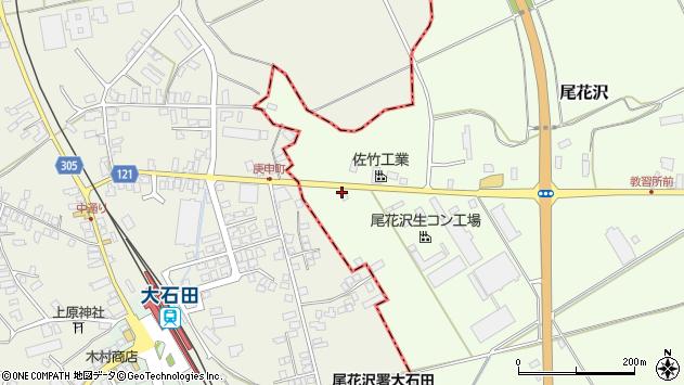 山形県尾花沢市尾花沢1294周辺の地図