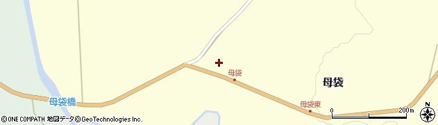 山形県尾花沢市母袋48周辺の地図