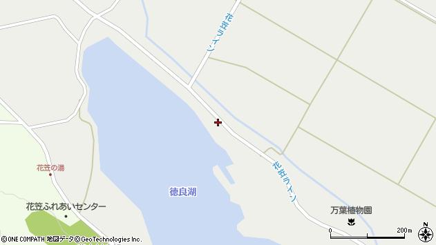 山形県尾花沢市二藤袋1316周辺の地図