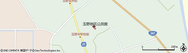 山形県尾花沢市鶴巻田866周辺の地図