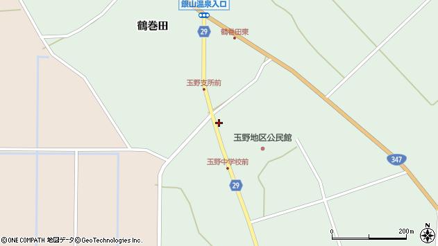山形県尾花沢市鶴巻田859周辺の地図