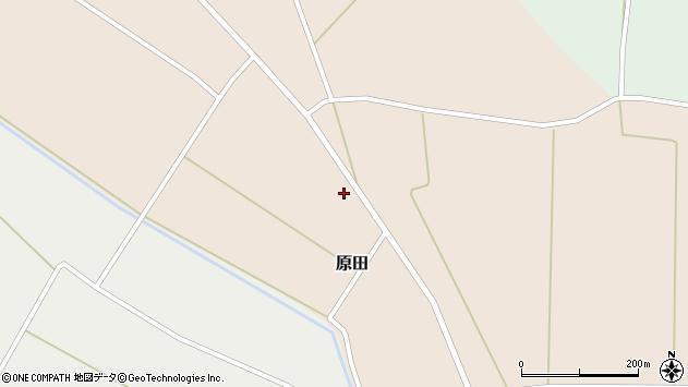 山形県尾花沢市原田770周辺の地図