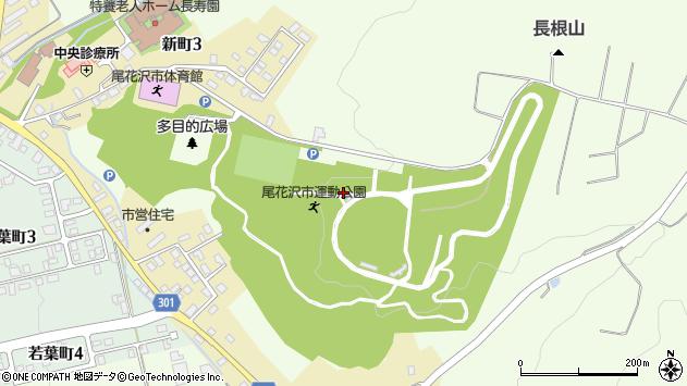 山形県尾花沢市尾花沢2152周辺の地図
