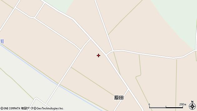 山形県尾花沢市原田736周辺の地図