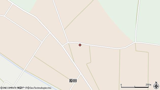 山形県尾花沢市原田565周辺の地図