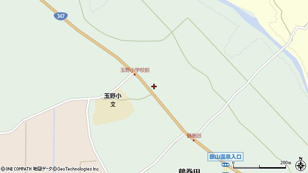 山形県尾花沢市鶴巻田379周辺の地図