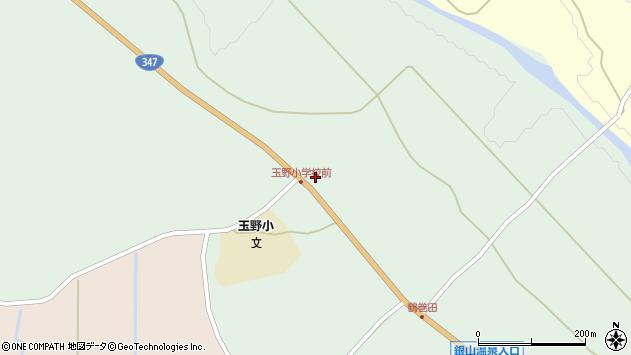 山形県尾花沢市鶴巻田376周辺の地図