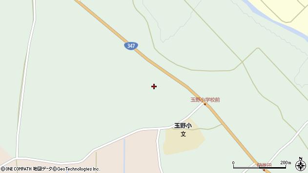 山形県尾花沢市鶴巻田673周辺の地図
