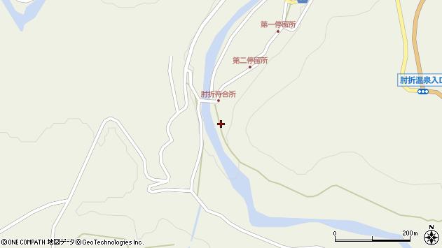 山形県最上郡大蔵村南山547周辺の地図