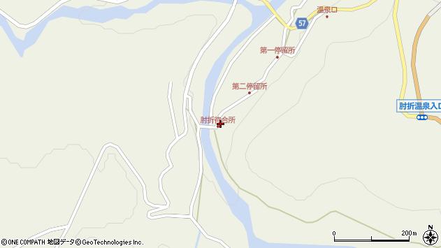 山形県最上郡大蔵村南山538周辺の地図