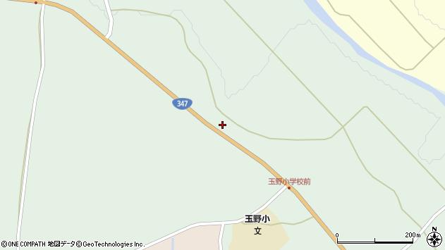 山形県尾花沢市鶴巻田611周辺の地図