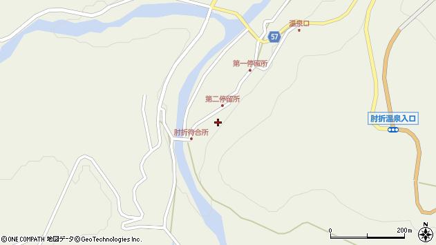 山形県最上郡大蔵村南山521周辺の地図