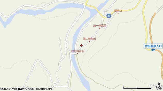 山形県最上郡大蔵村南山531周辺の地図