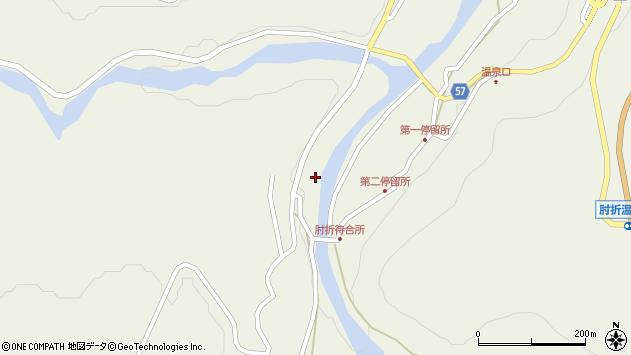 山形県最上郡大蔵村南山642周辺の地図