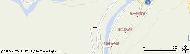 山形県最上郡大蔵村南山624周辺の地図
