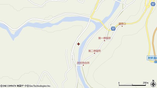 山形県最上郡大蔵村南山1772周辺の地図