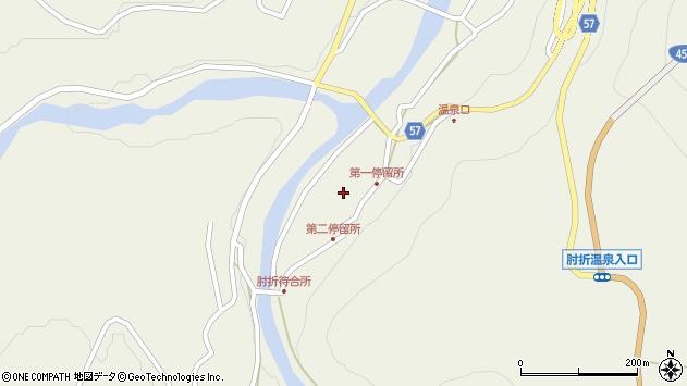 山形県最上郡大蔵村南山502周辺の地図