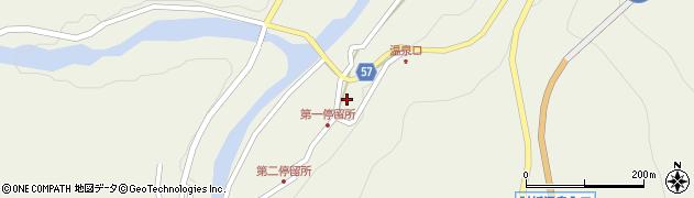山形県最上郡大蔵村南山477周辺の地図