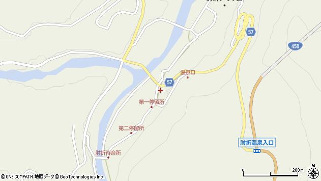 山形県最上郡大蔵村南山周辺の地図