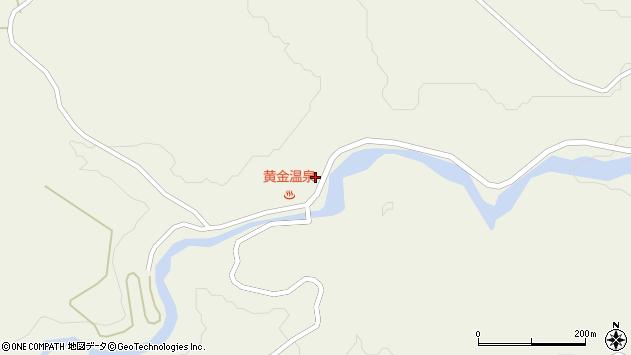 山形県最上郡大蔵村南山662周辺の地図