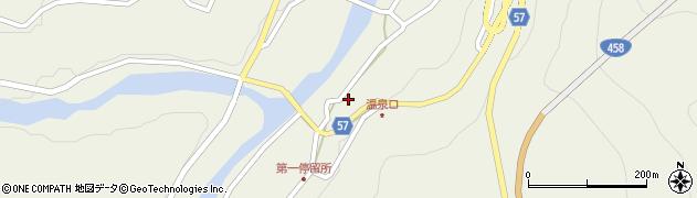 山形県最上郡大蔵村南山459周辺の地図
