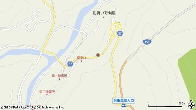 山形県最上郡大蔵村南山1962周辺の地図