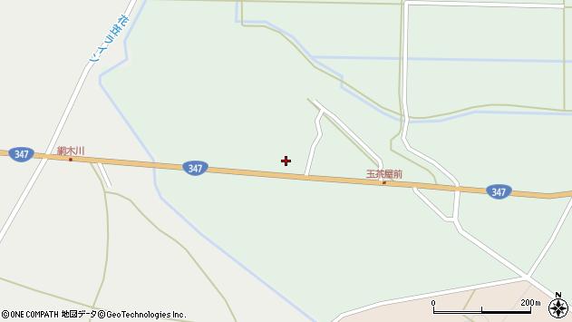 山形県尾花沢市北郷190周辺の地図
