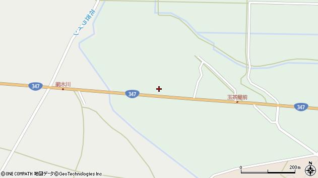 山形県尾花沢市北郷189周辺の地図