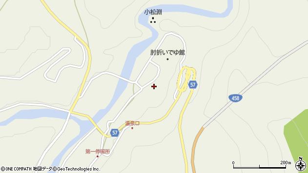 山形県最上郡大蔵村南山450周辺の地図