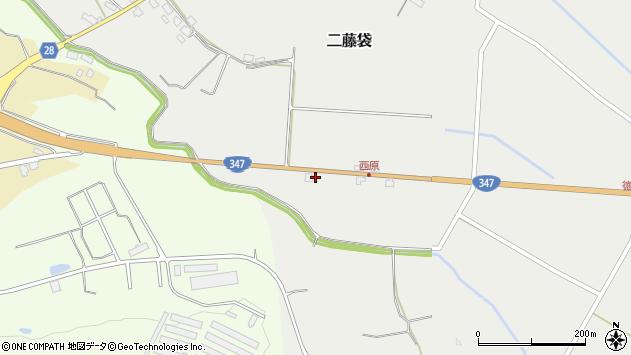 山形県尾花沢市二藤袋844周辺の地図