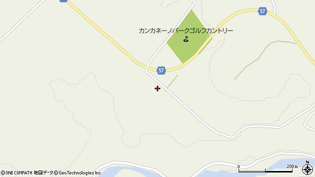 山形県最上郡大蔵村南山5116周辺の地図