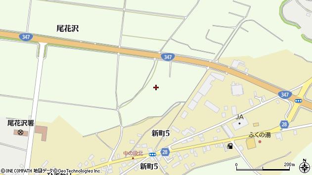 山形県尾花沢市尾花沢中ノ段周辺の地図