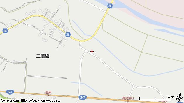 山形県尾花沢市二藤袋377周辺の地図