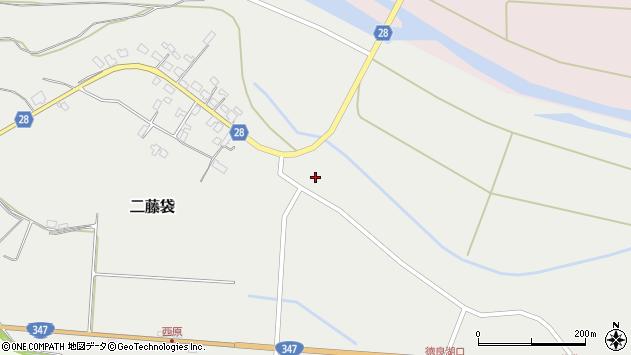 山形県尾花沢市二藤袋376周辺の地図