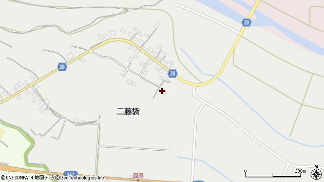 山形県尾花沢市二藤袋288周辺の地図